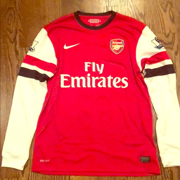 premium selection 52720 ae0c9 2012 Arsenal Long Sleeve Home Jersey - Ozil 11